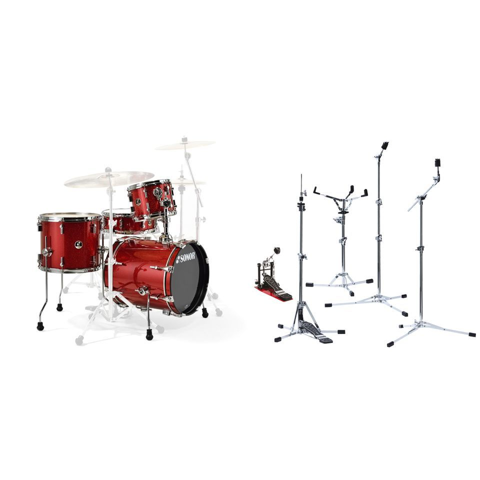 SONOR Safari Red Flatbase - Set Produktbild