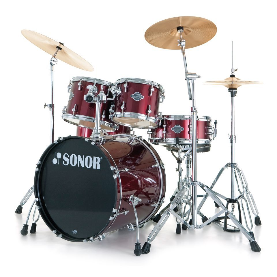 Sonor Smart Force Xtend Combo, Wine Red #12 Produktbillede