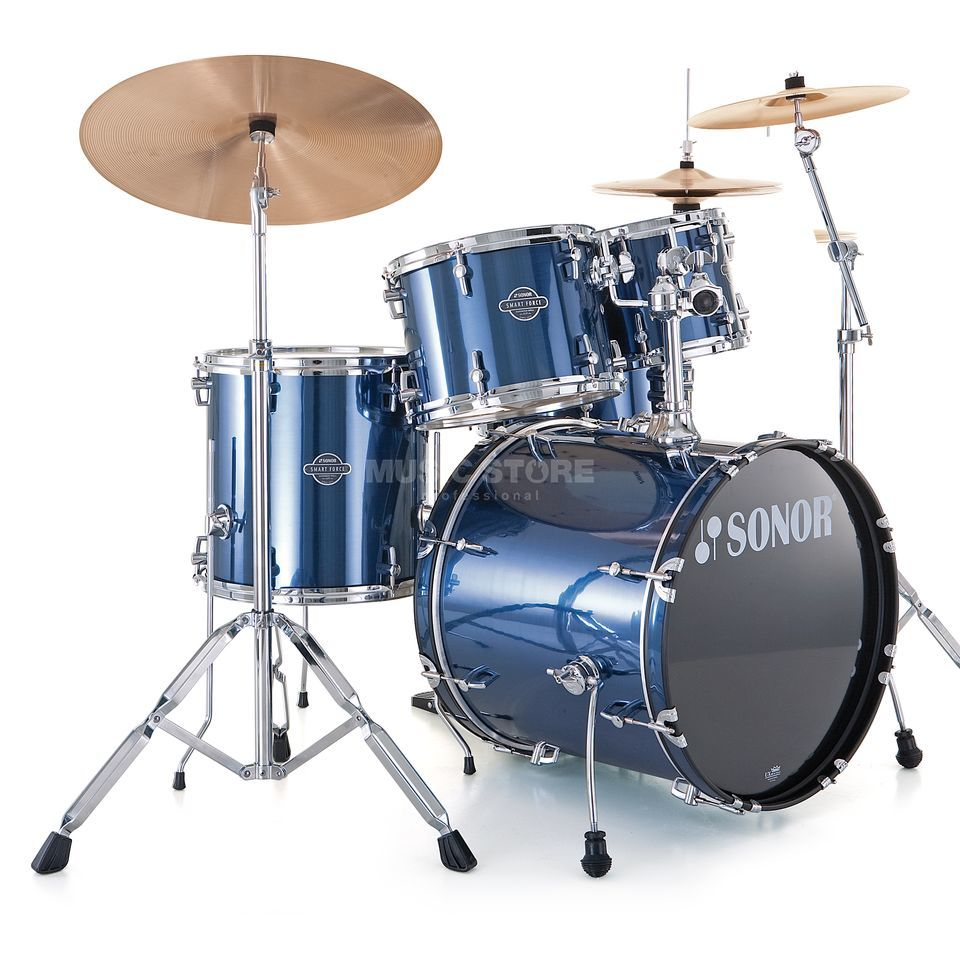 Sonor Smart Force Xtend Studio, Brushed Blue #09 Produktbillede