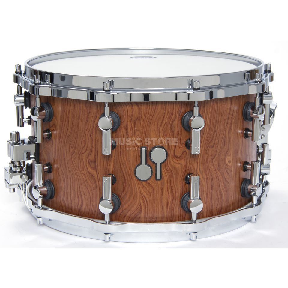 "Sonor SQ2 Maple Snare 14""x8"", Bubinga Furnier, matt Produktbild"