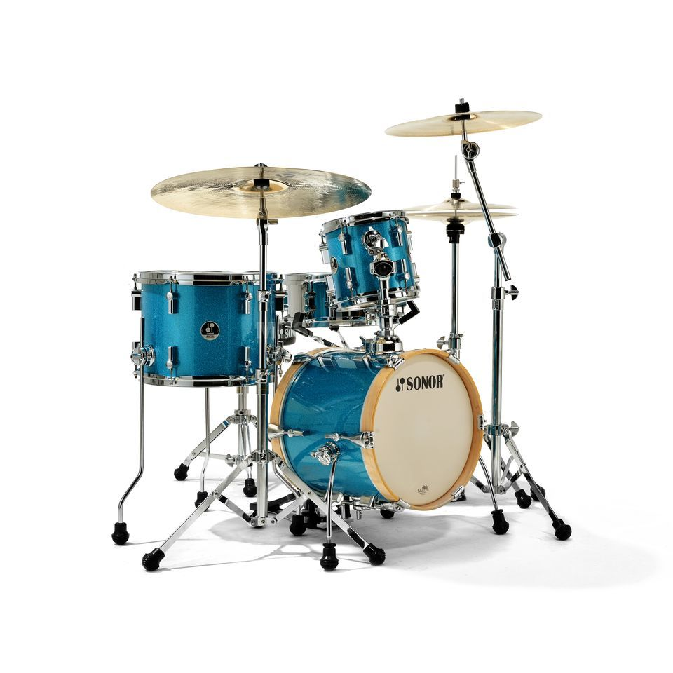 Sonor SSE 13 Martini ShellSet, Turquois Galaxy Sparkle Produktbillede