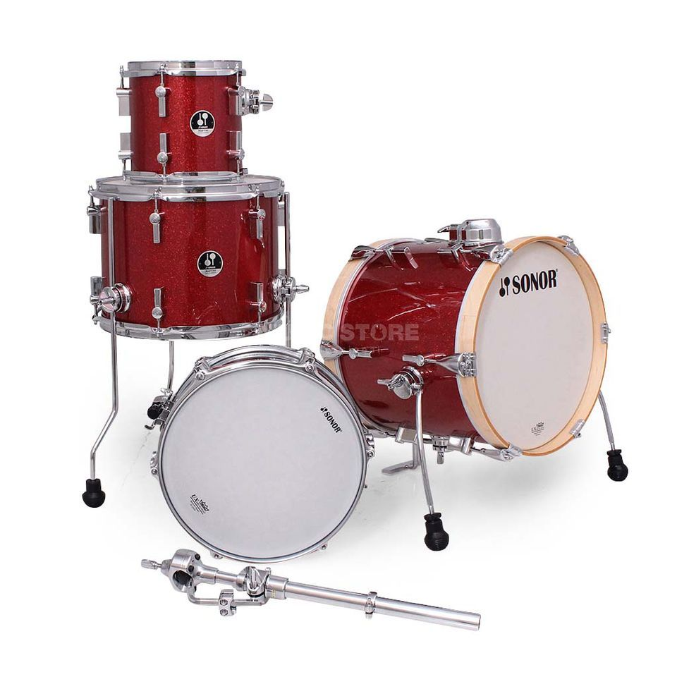 Sonor SSE 14 Martini ShellSet, Red Galaxy Sparkle Produktbillede