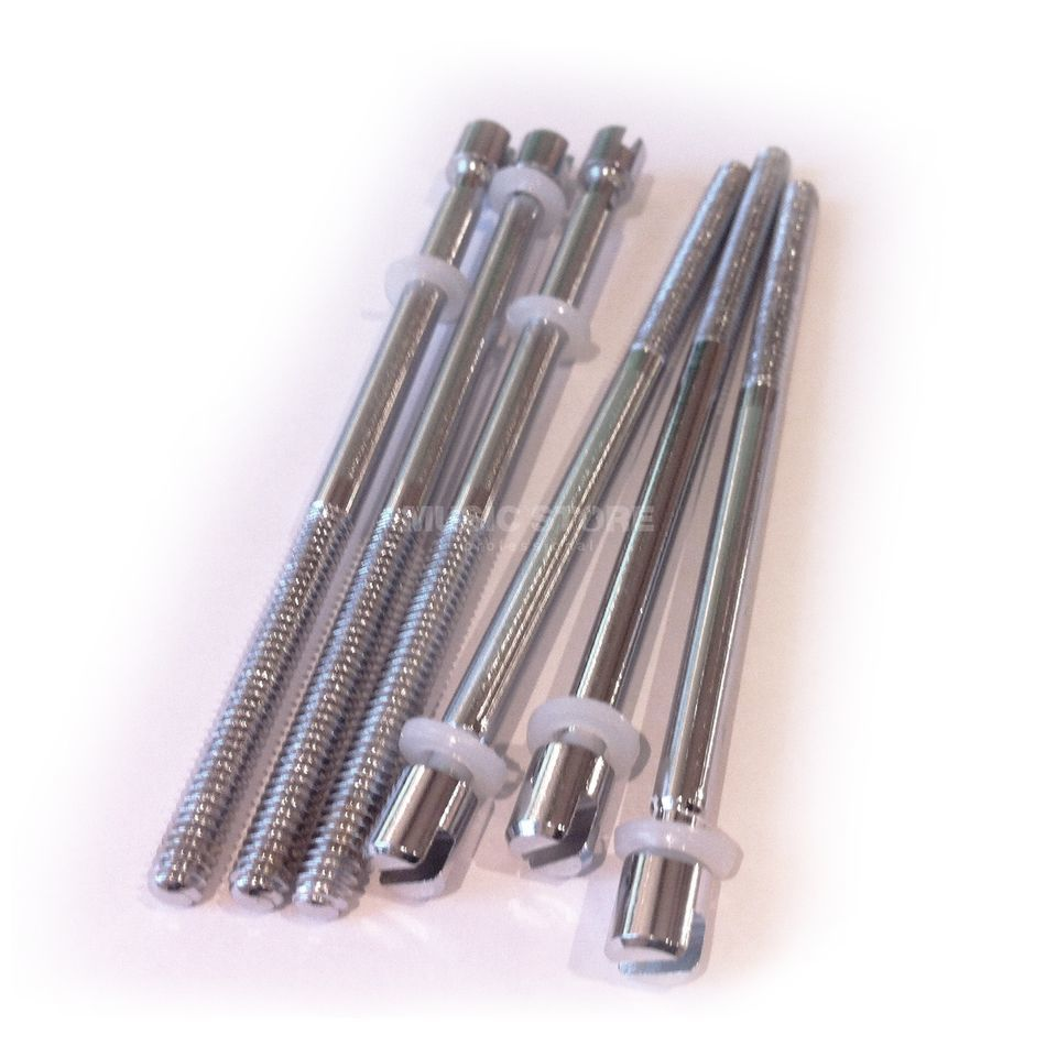 "Sonor Tension Rod 1/4"" x 120mm Chrome x6 Product Image"