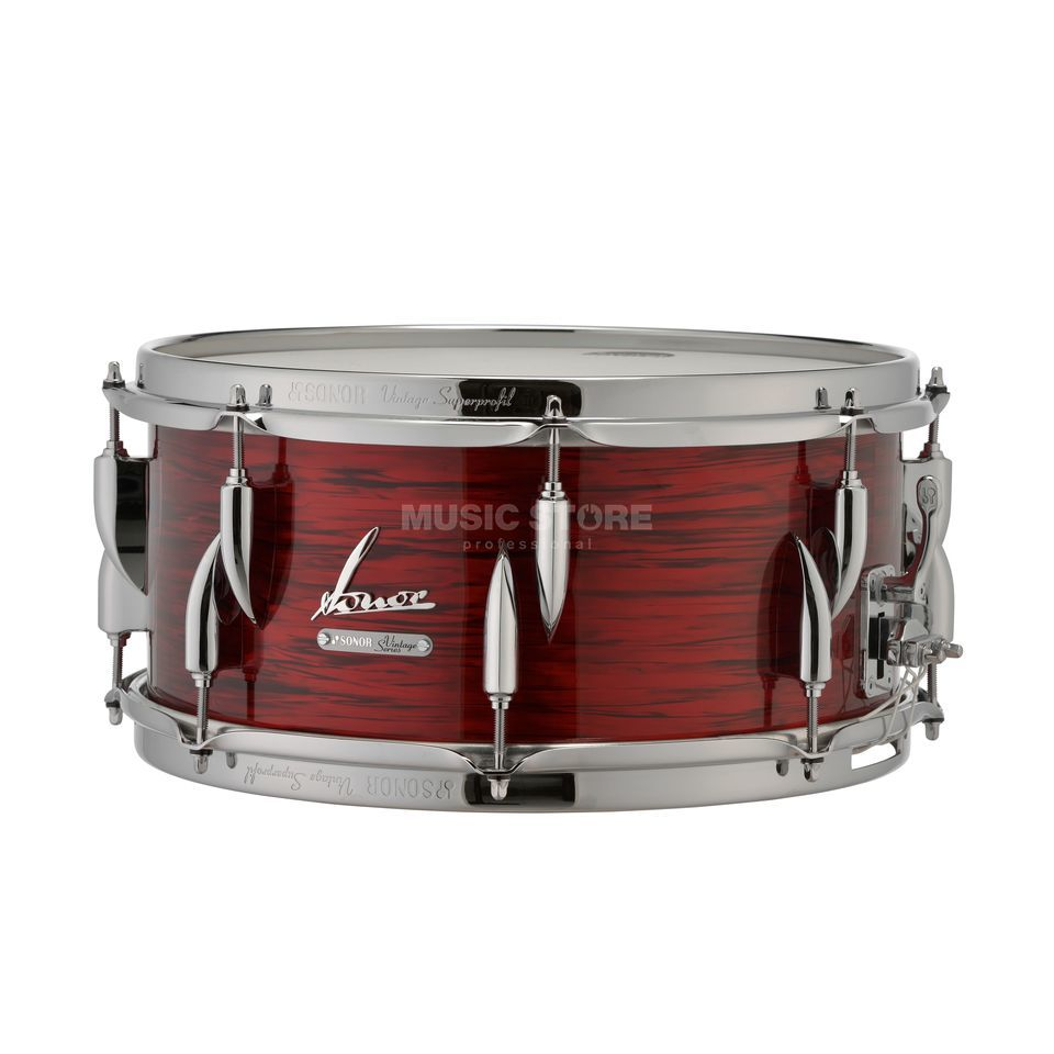 "Sonor Vintage Series Snare 14""x5,75"" Vintage Red Oyster Imagen del producto"