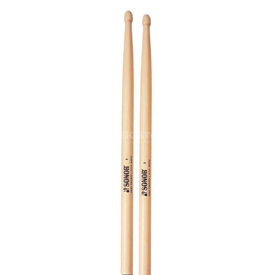 "Sonor Z5640 ""Maple-6"" Sticks, Tip: Oval Produktbild"