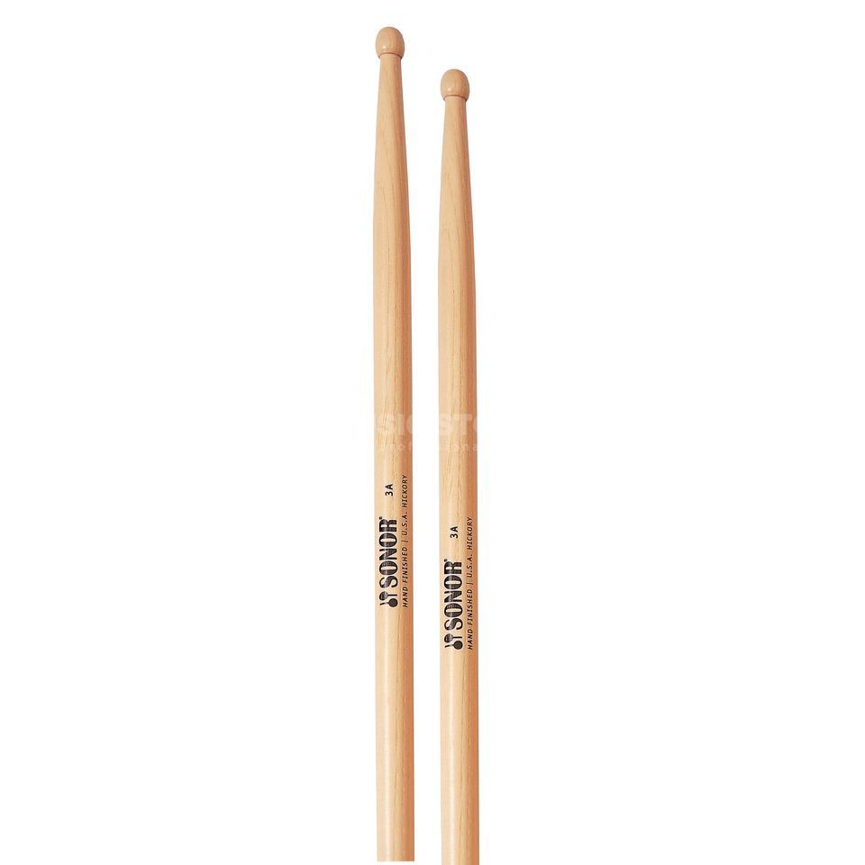 Sonor Z5642 Hickory 3A Sticks, Tip: Oval Produktbild