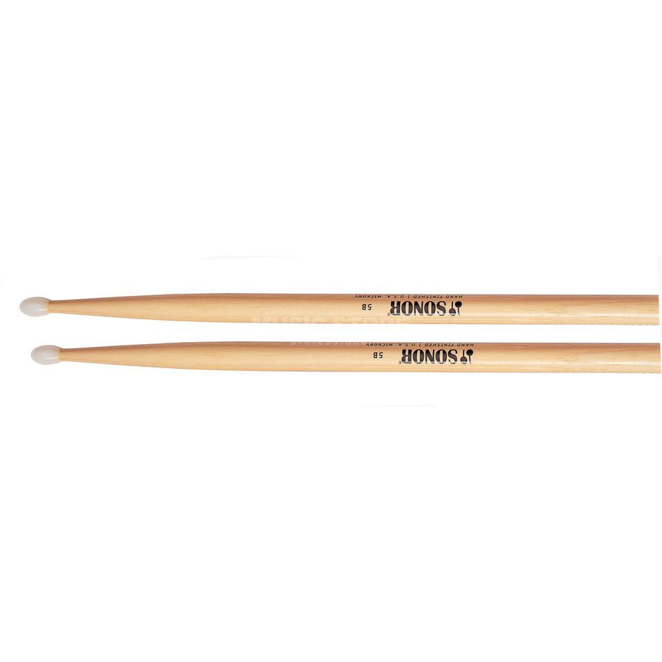 Sonor Z5643 Hickory 5BN Sticks, Nylon Tip, oval Productafbeelding