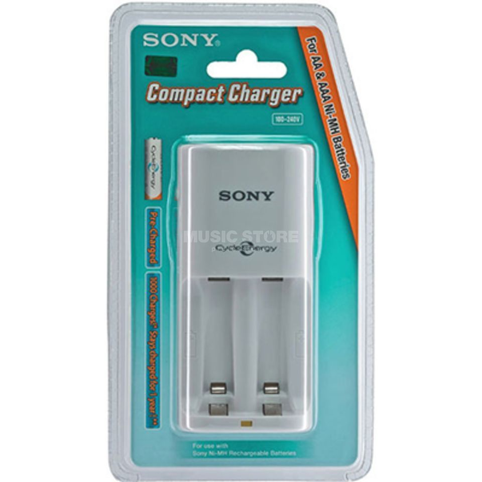 Sony BCG-34H LD4F Charger Power-Charger incl. 4 Batteries Produktbillede