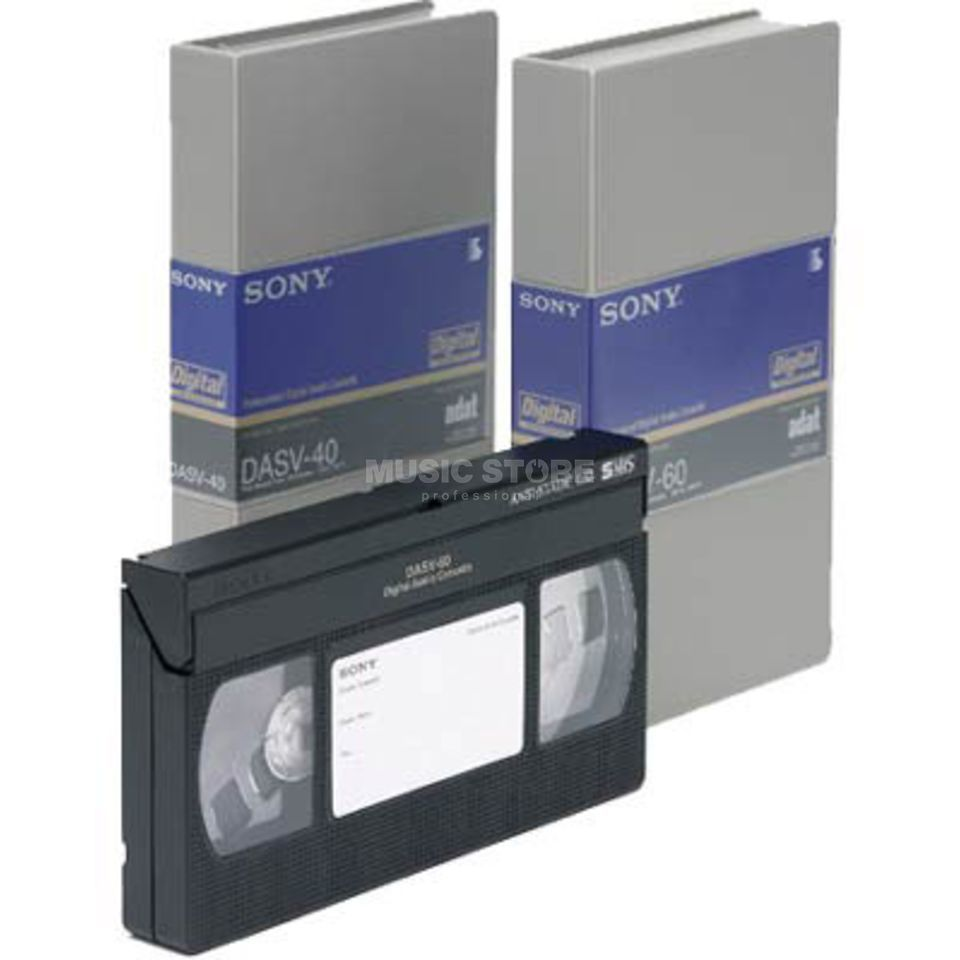 Sony DASV-60 ADAT Single Unit Digital Audio Tape for ADAT Produktbillede