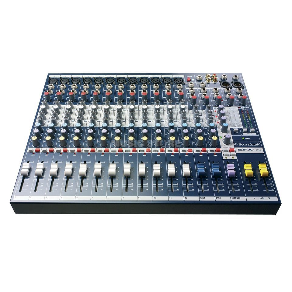 Soundcraft EFX12 Multi-Purpose Mixer with Lexicon Effects Produktbillede