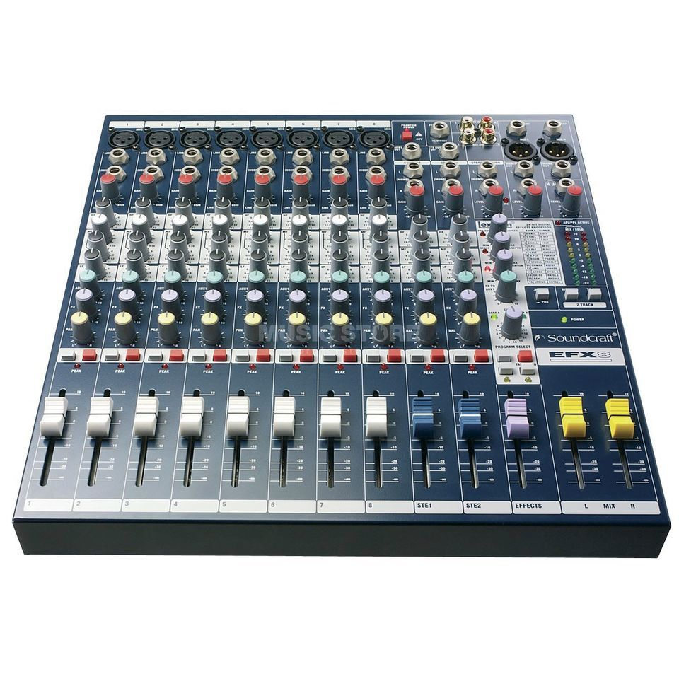 Soundcraft EFX8 Multi-Purpose Mixer with Lexicon Effects Produktbillede
