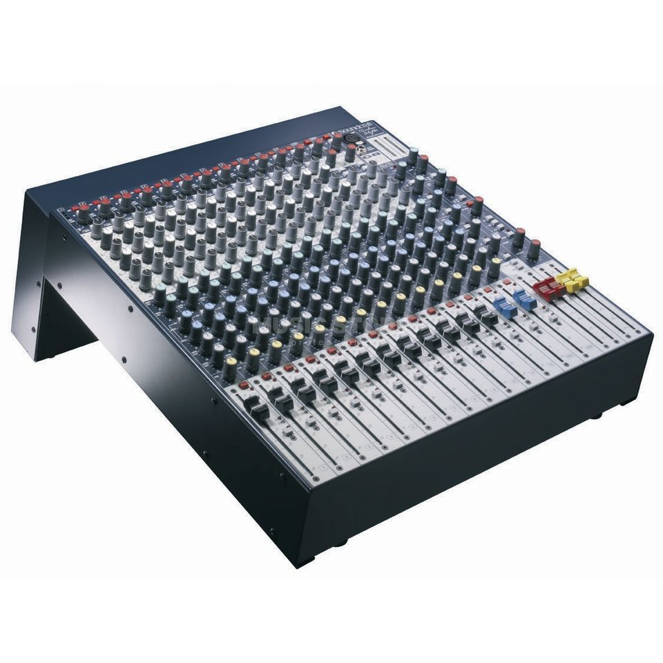 Soundcraft Gb2 122r 19 Mixer 2 Subgroups The Two Circuits Carefully Compare Pictures To Breadboard Product Image