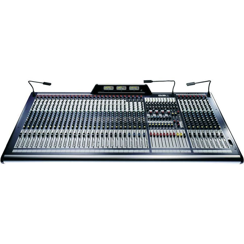 Soundcraft GB8 32+2  FoH-/Monitor-Console Live Mixer Produktbillede