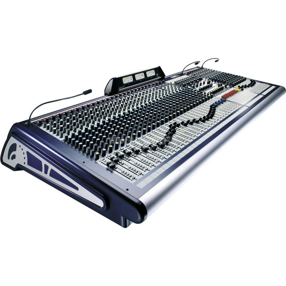 Soundcraft GB8 40+2  FoH-/Monitor-Console Live Mixer Produktbillede