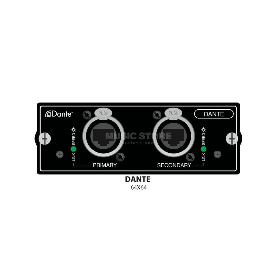 Soundcraft Si DANTE Karte Si-Compact/Expression/Perf. Produktbild