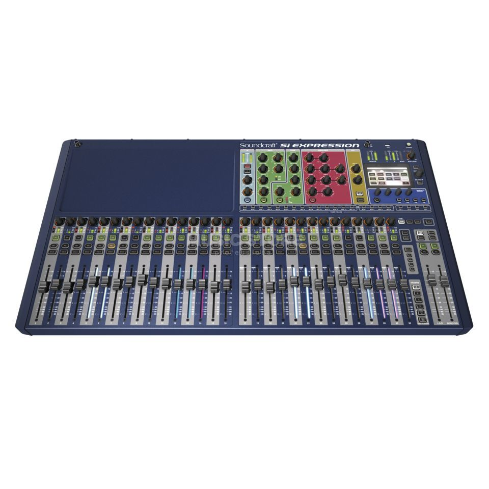 Soundcraft Si Expression 3 32 Kanal Digitalmixer Produktbild