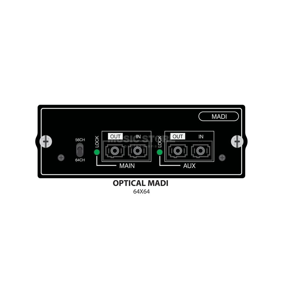 Soundcraft Si LWL MADI Multi Mode Karte Si, Si+, Si-Comp/-Expr/-Perf Produktbild