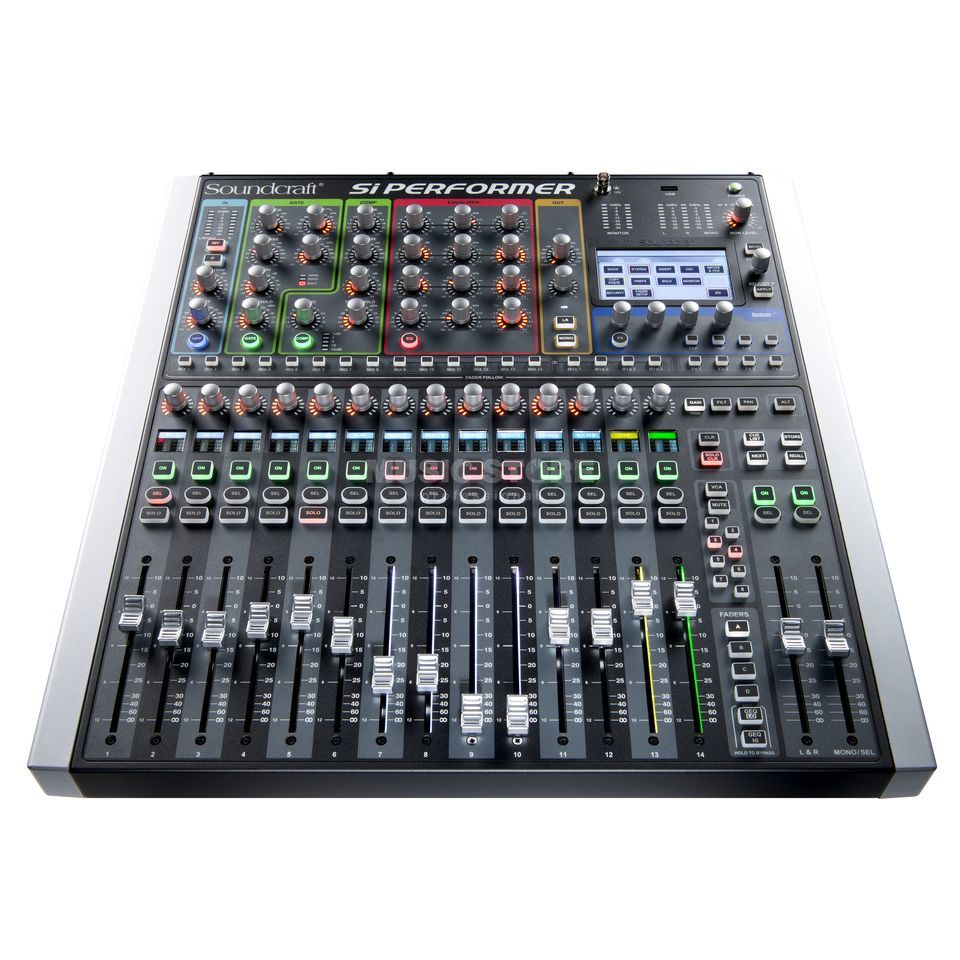 Soundcraft Si Performer 1 mit DMX512 Port, 16 Fader Produktbild