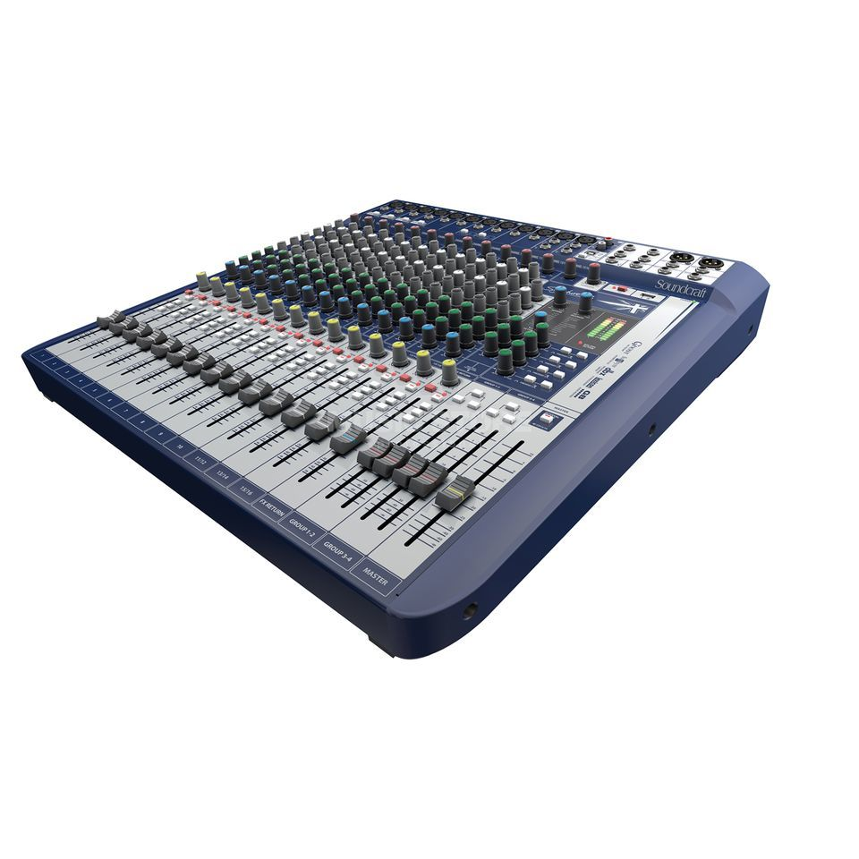 Soundcraft Signaturale 16 Mixer incl. Ableton LiveLite Software Produktbillede