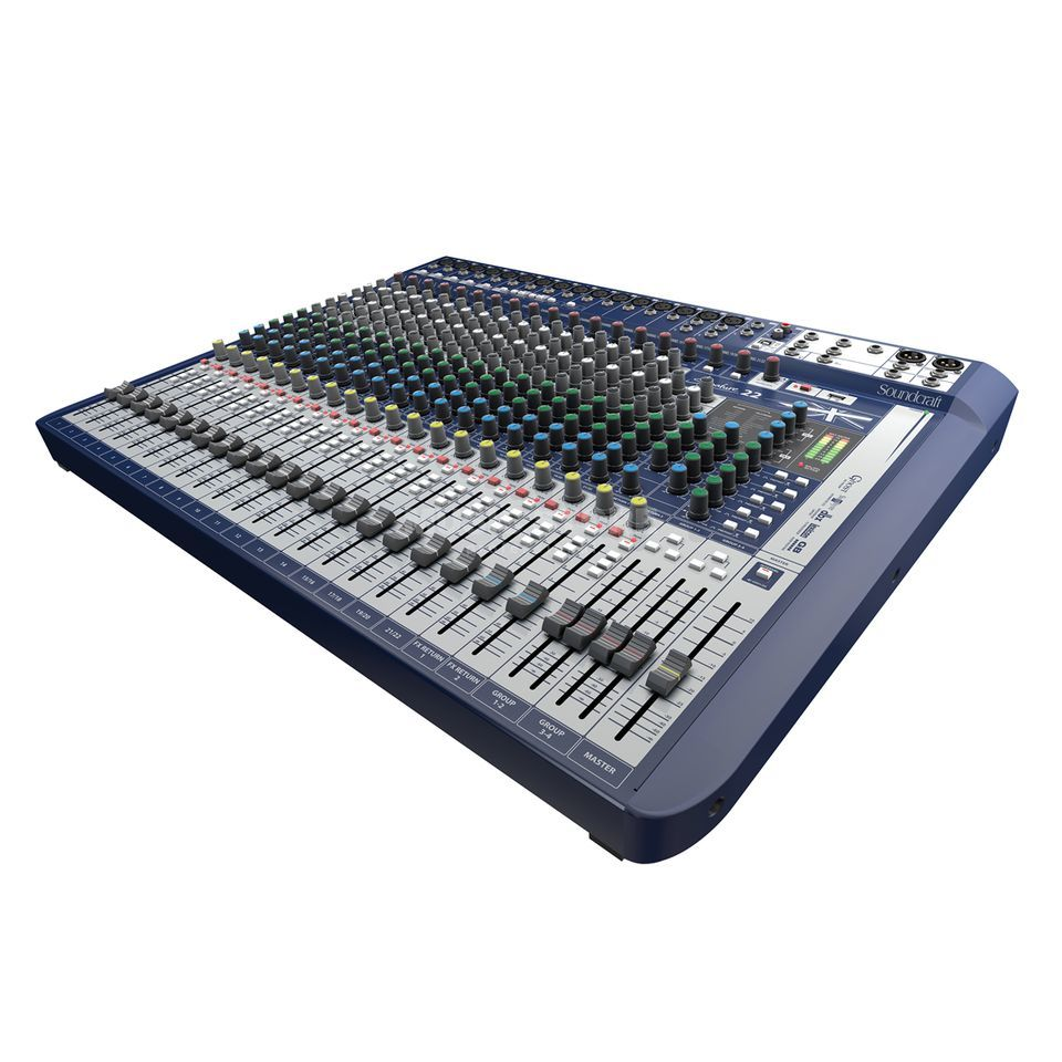 Soundcraft Signaturale 22 Mixer incl. Ableton LiveLite Software Produktbillede
