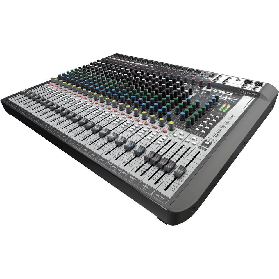 Soundcraft Signature 22 MTK Mixer inkl.Ableton LiveLite Software Produktbild