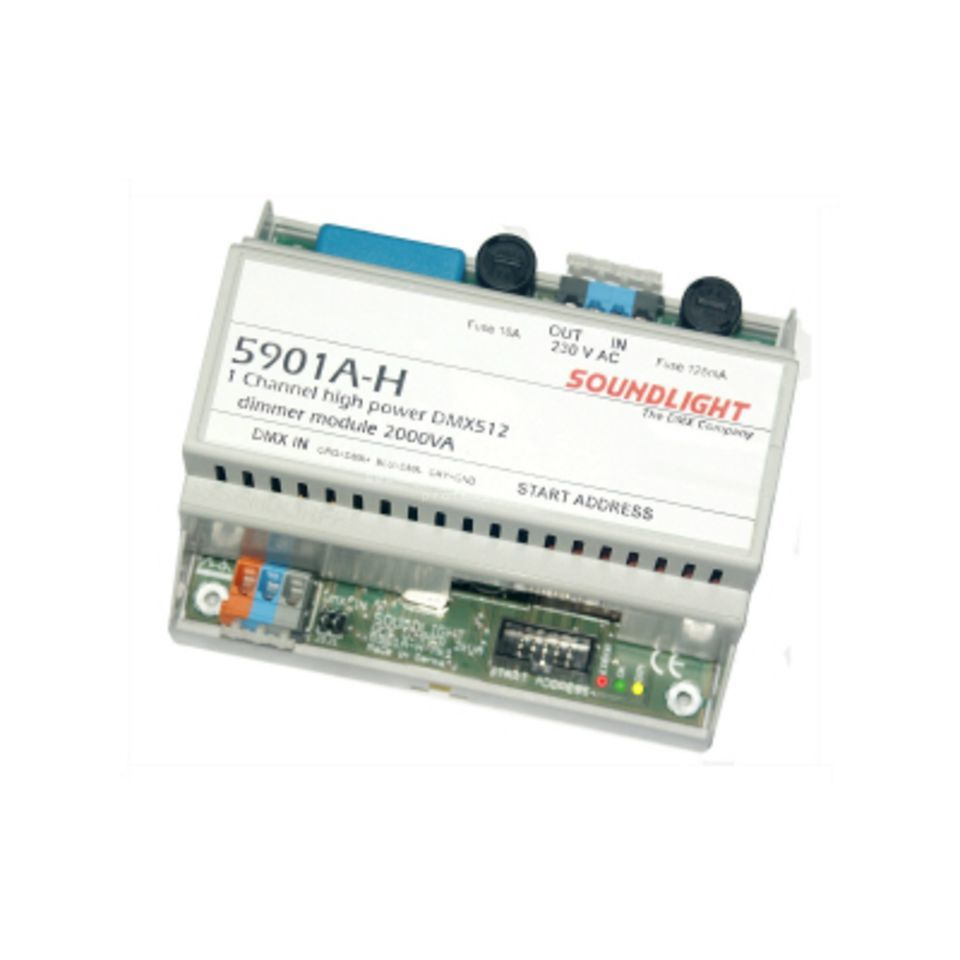 Soundlight 5901 A-H DMX-Dimmer, 1 Channel  Produktbillede