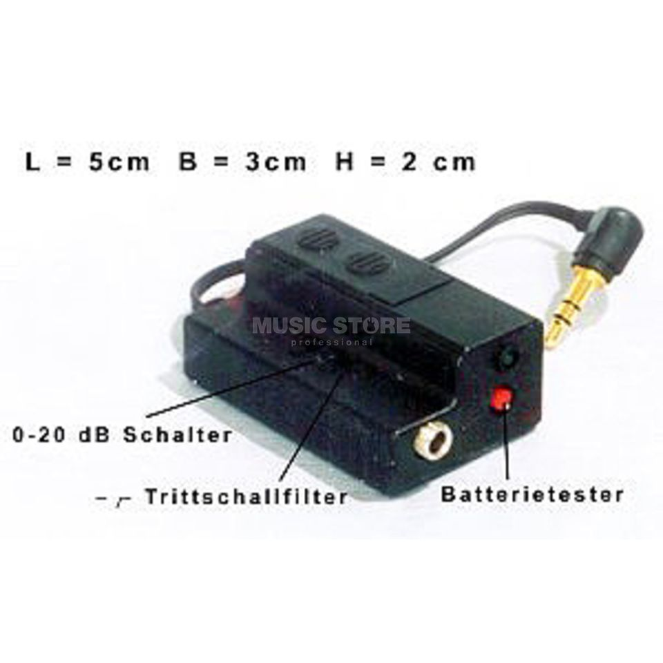 A3-Adapter solo / Battery- PreAmp for OKM-Series