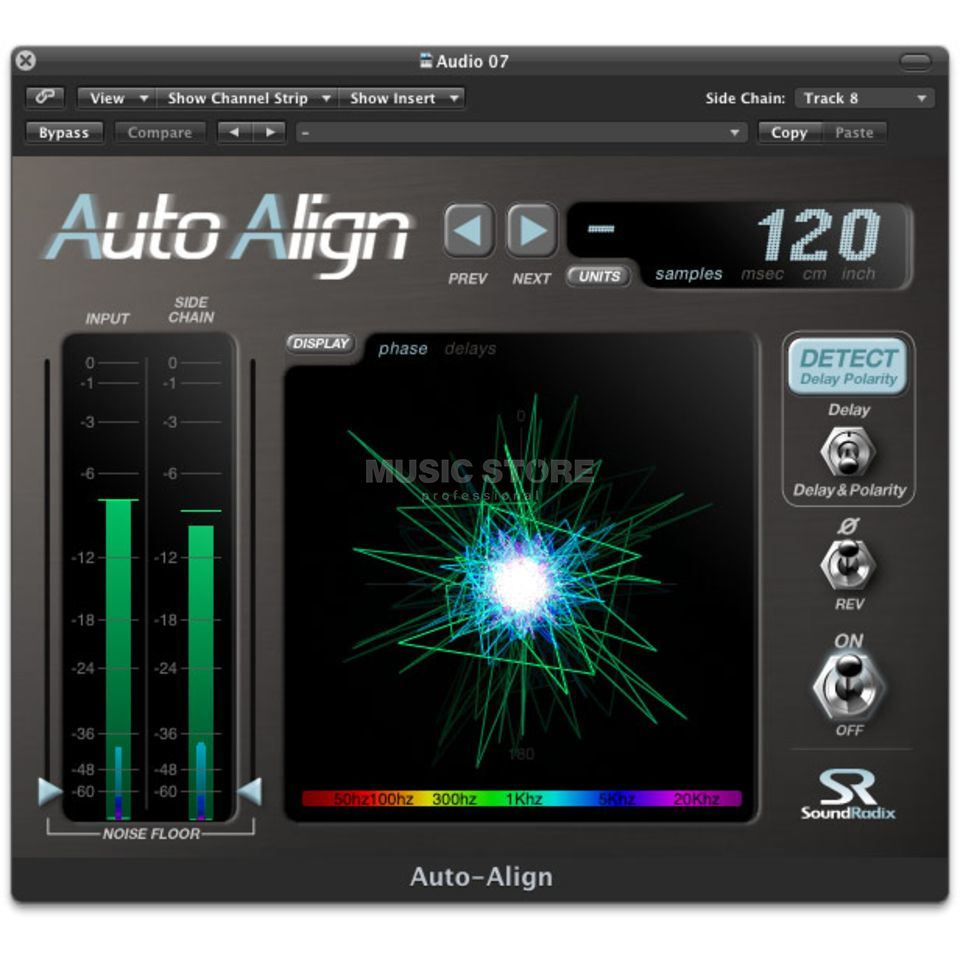 SoundRadix Auto-Align Phase Correction Plug-in Produktbillede
