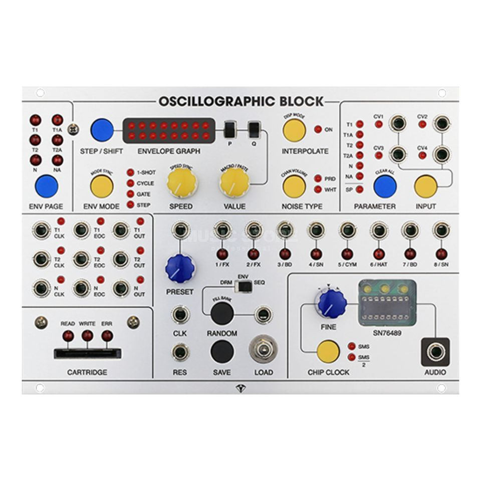 Special Stage Systems Oscillographic Block Produktbild
