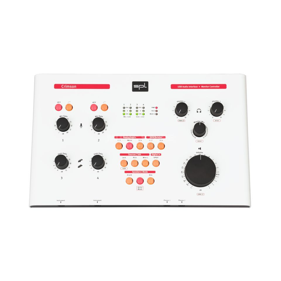 SPL Electronics Crimson R2 white Product Image