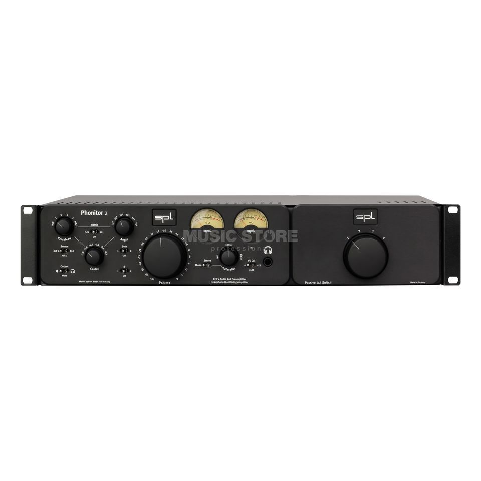 SPL Electronics Expansion Rack black Phonitor 2 / SMC 7.1 Rackmount Product Image