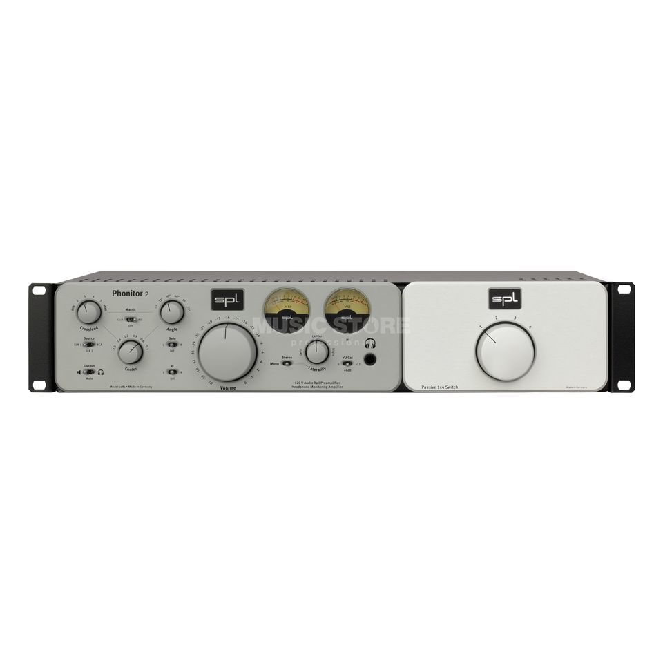 SPL Electronics Expansion Rack silver Phonitor 2 / SMC 7.1 Rackmount Productafbeelding
