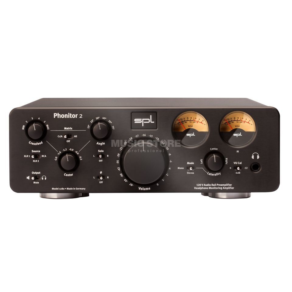 SPL Electronics Phonitor 2 black High-End Headphone Amplifier Produktbillede