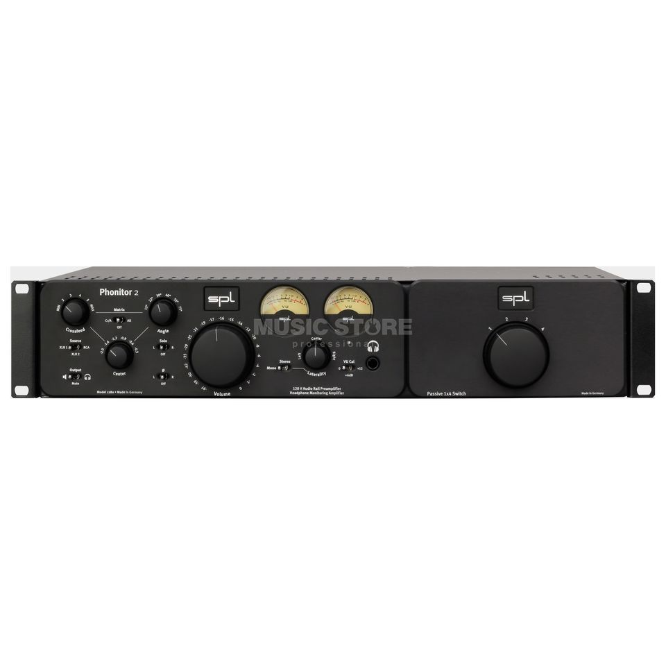 SPL Electronics Phonitor 2 + Expansion Rack Bundle black Product Image