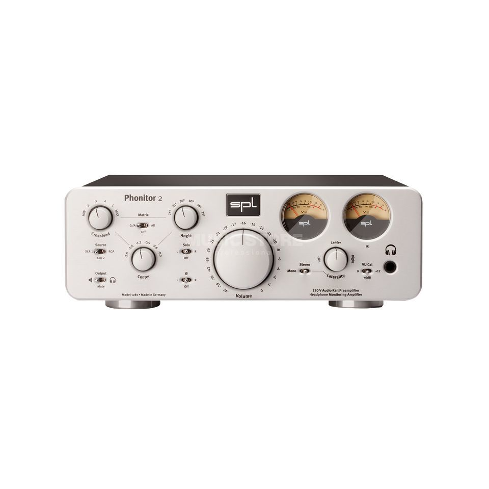 SPL Electronics Phonitor 2 silver High-End Headphone Amplifier Produktbillede