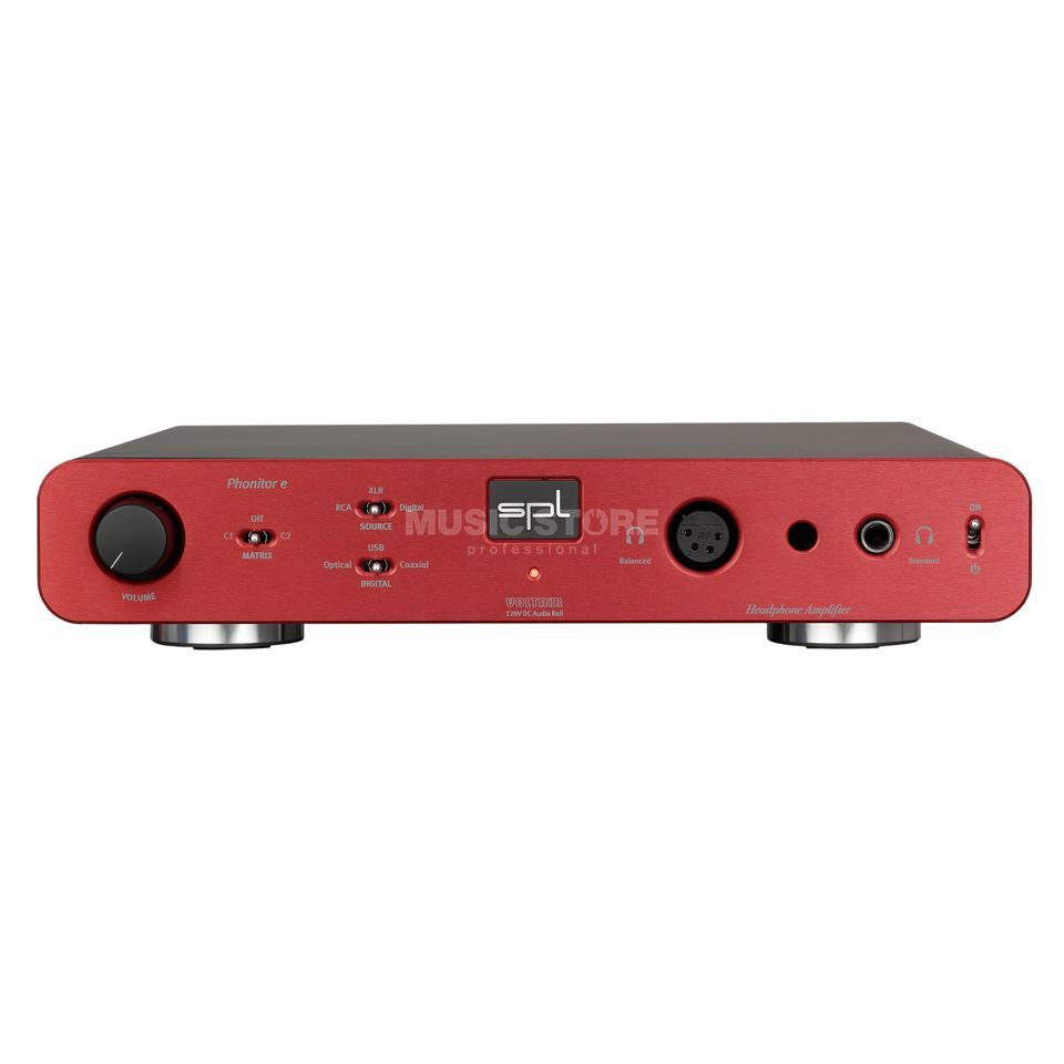 SPL Electronics Phonitor E + DA Red Product Image