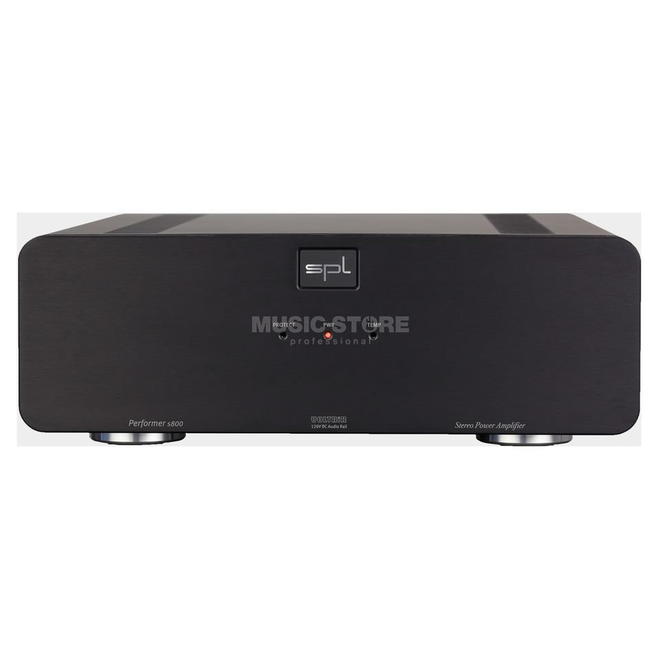 SPL Electronics Pro-Fi Performer S800 black High End Stereo-Endstufe Imagem do produto