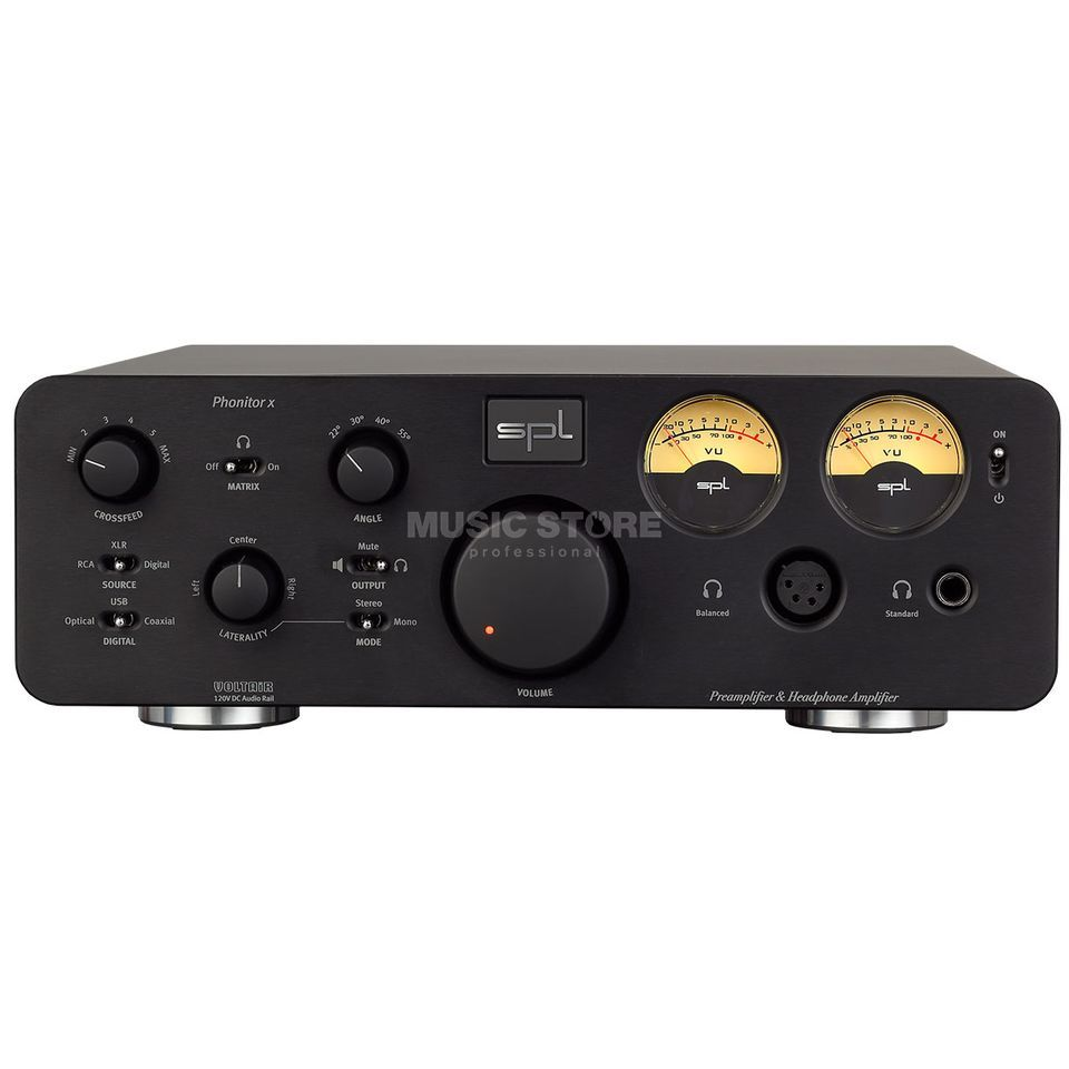 SPL Electronics Pro-Fi Phonitor X + DA black High-End Hörer/Vorverstärker Product Image