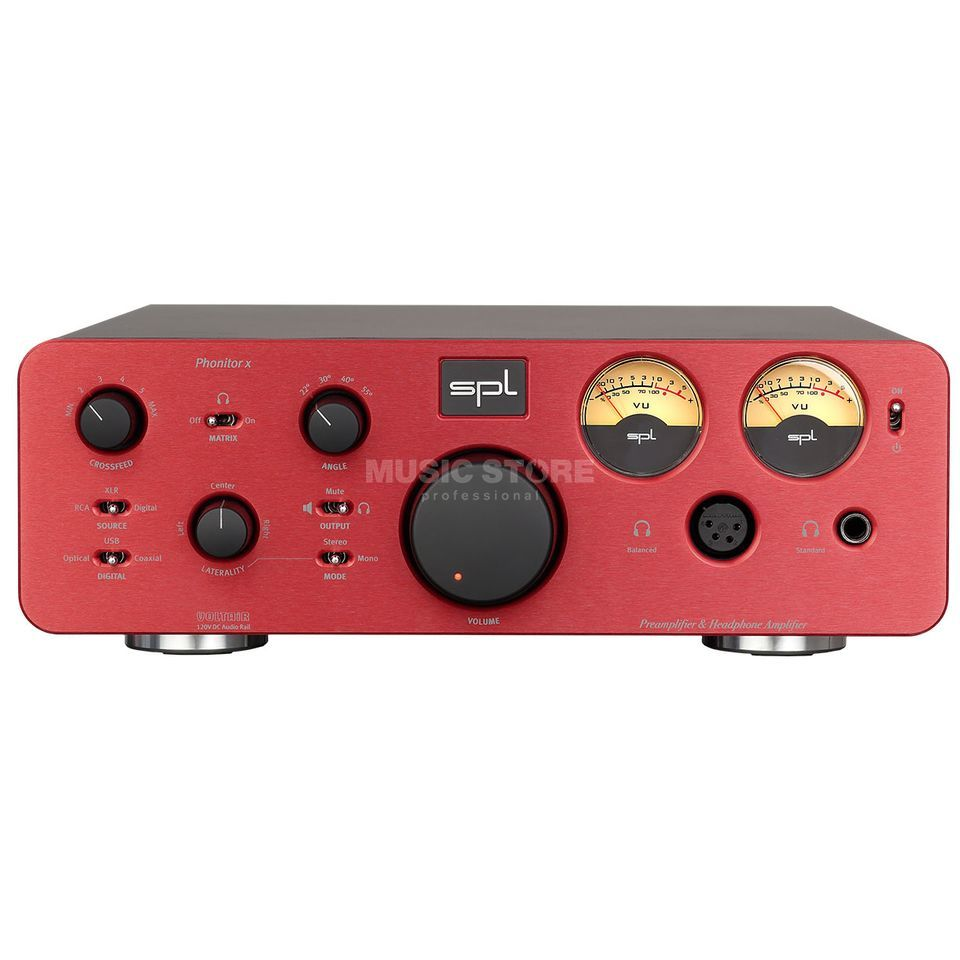 SPL Electronics Pro-Fi Phonitor X + DA red High-End Hörer/Vorverstärker Product Image