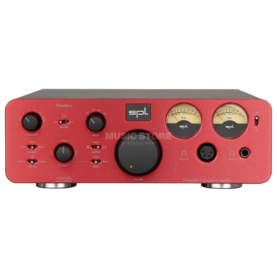 SPL Electronics Pro-Fi Phonitor X red High-End Hörer/Vorverstärker Produktbild