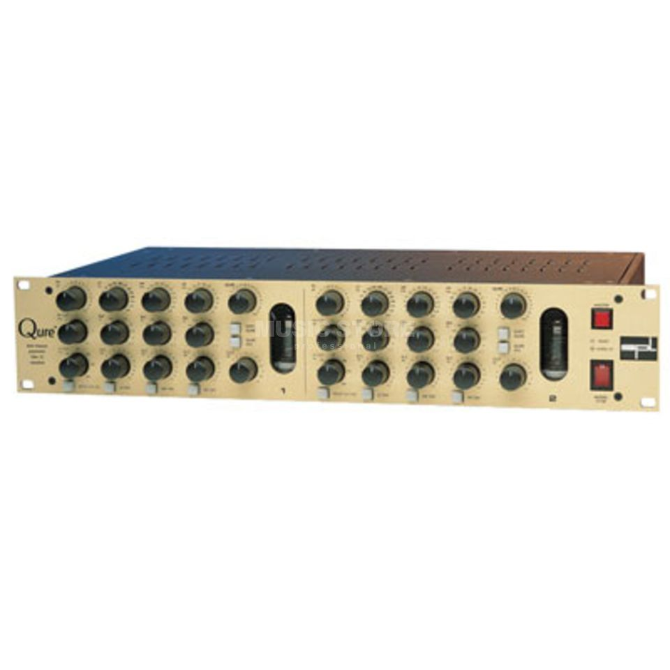 "SPL Electronics Qure 2-Channel Tube 3-Band param.EQ, 19"" 2HE Produktbillede"