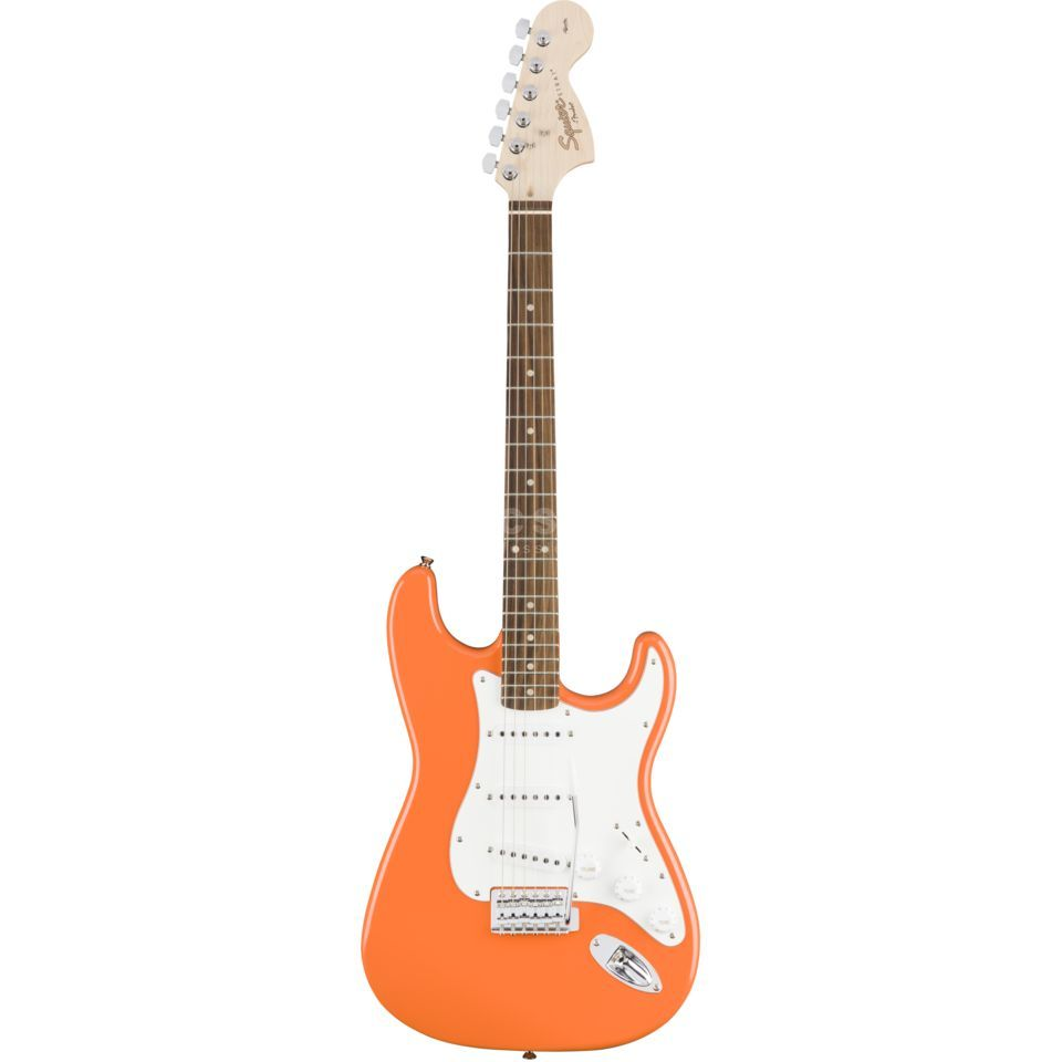 Squier by Fender Affinity Series Stratocaster RW Competition Orange Produktbillede
