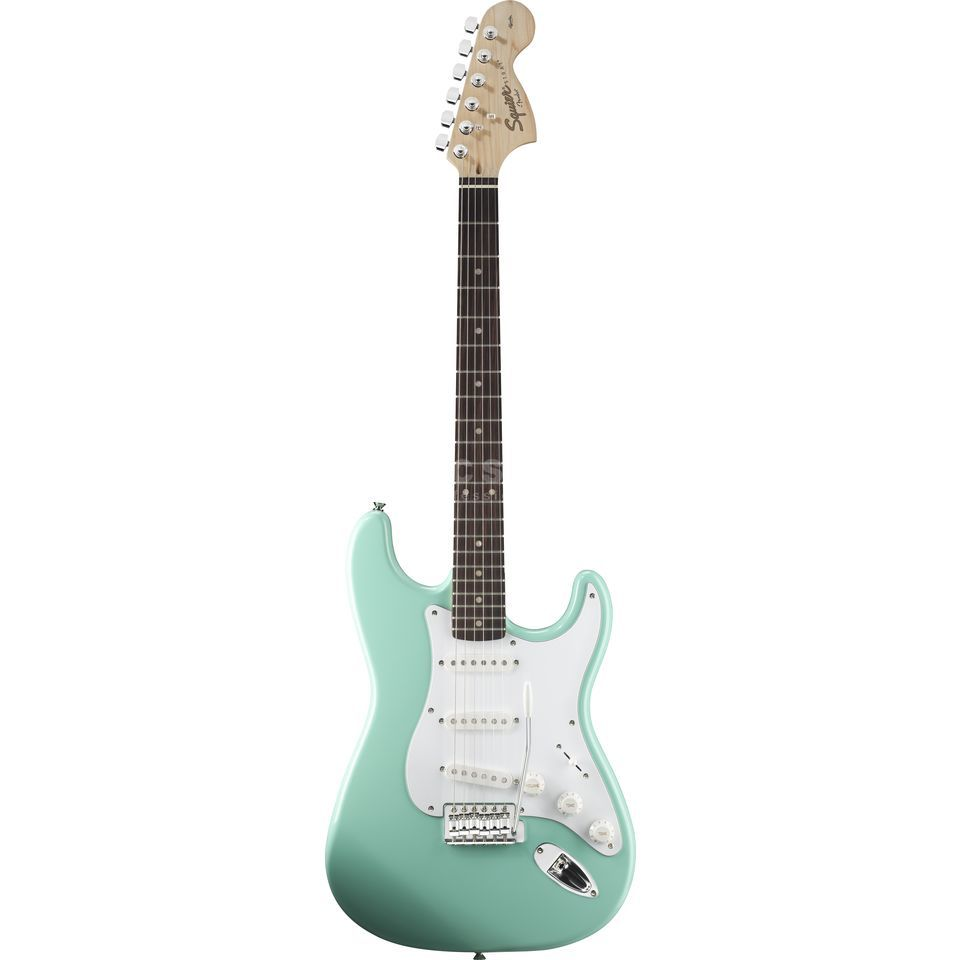Squier by Fender Affinity Series Stratocaster RW Surf Green Produktbild