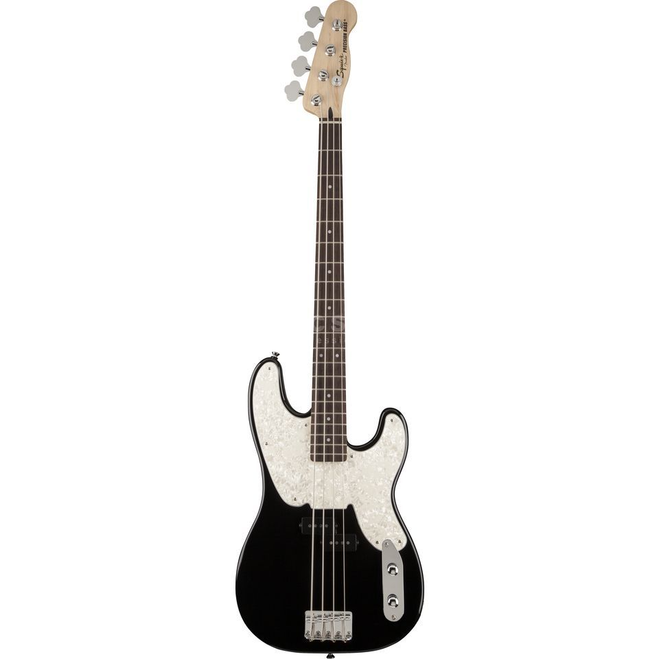 Squier by Fender AS Mike Dirnt P-Bass RW BLK Black Produktbillede
