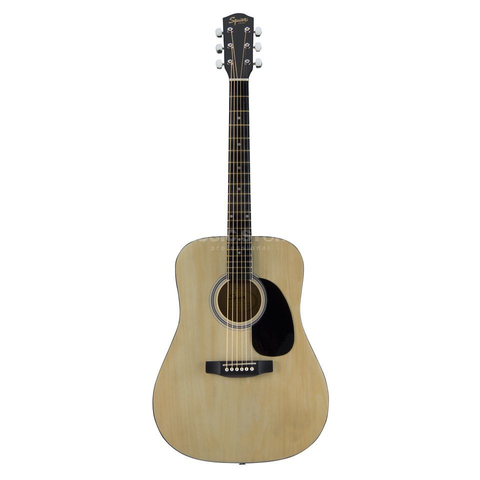 Squier by Fender SA105 Acoustic Guitar, Natural    Produktbillede