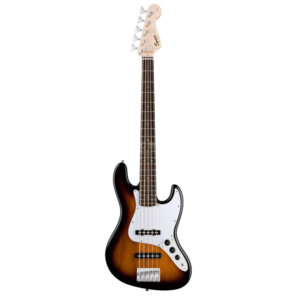 Squier by Fender Squier Affinity J-Bass V RW SB Brown Sunburst Produktbillede