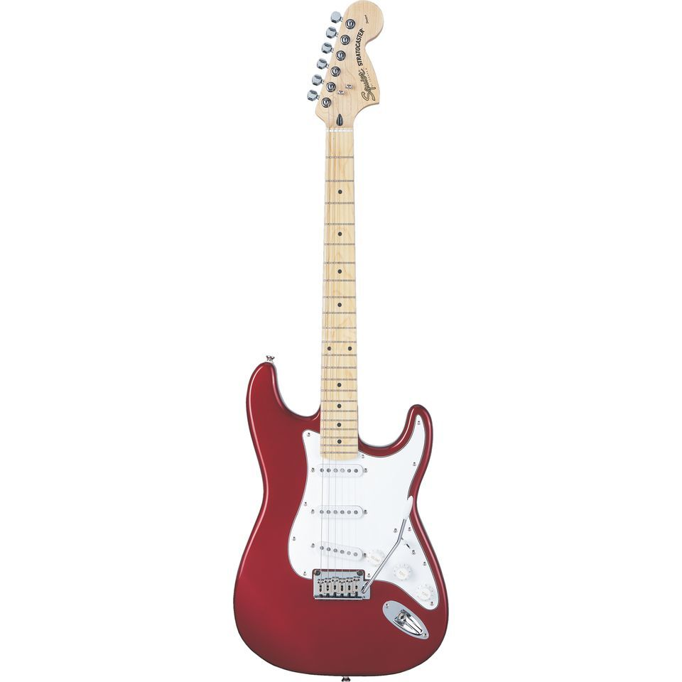 Squier by Fender Standard Stratocaster MN Candy Apple Red Produktbild