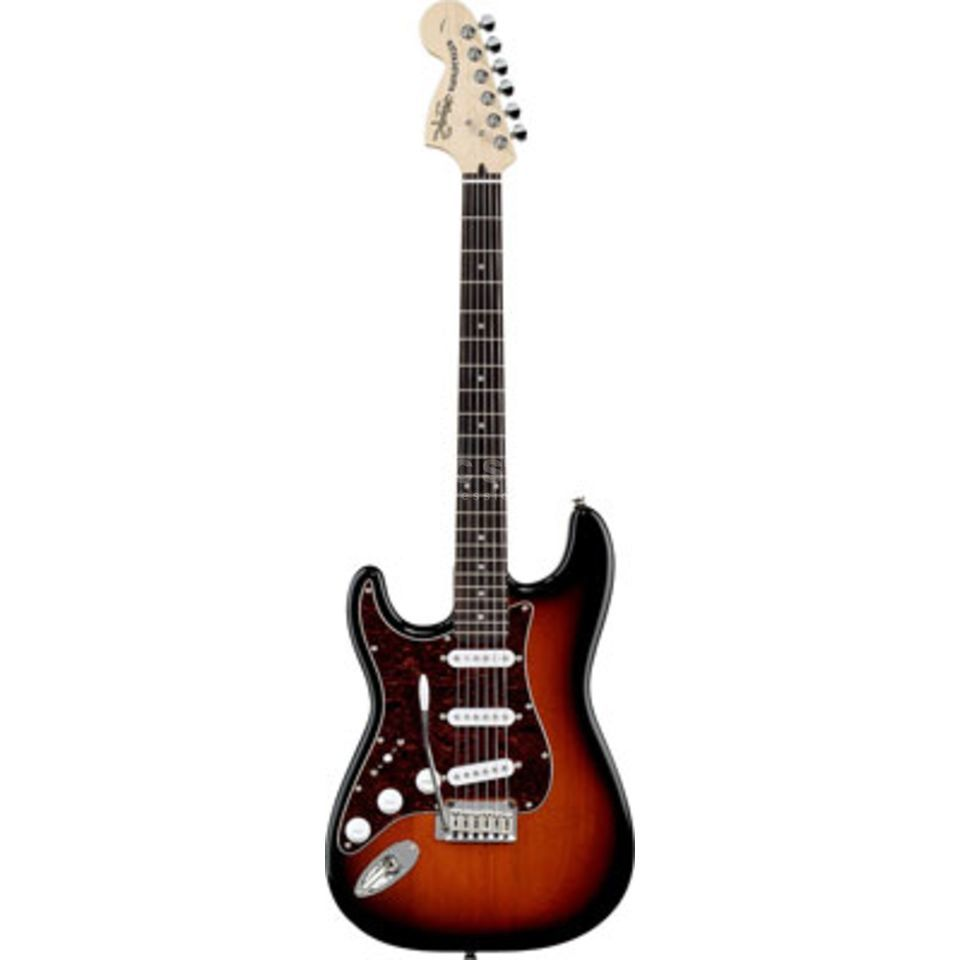 Squier by Fender Standard Stratocaster RW Antique Burst Lefthand Produktbild