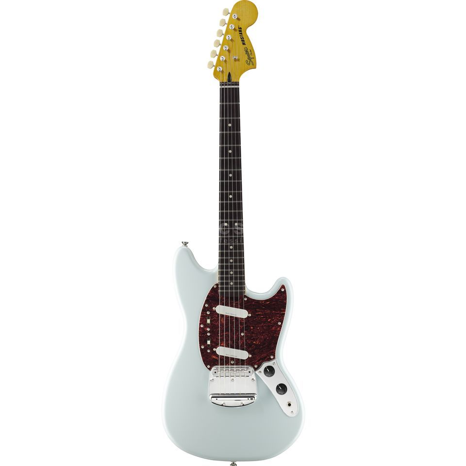 Squier by Fender Vintage Modified Mustang RW Sonic Blue Produktbild