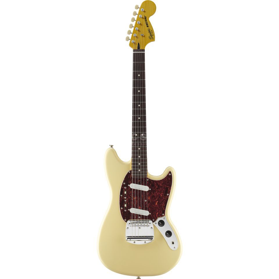 Squier by Fender Vintage Modified Mustang RW Vintage White Produktbild
